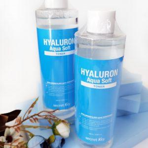 Nawilżający hialuronowy tonik do twarzy Secret Key Hyaluron Soft Toner 2